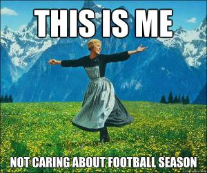 sound of music football