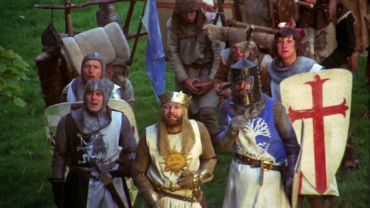 Knights of the round table monty python - 1975 Monty Python And The Holy Grail