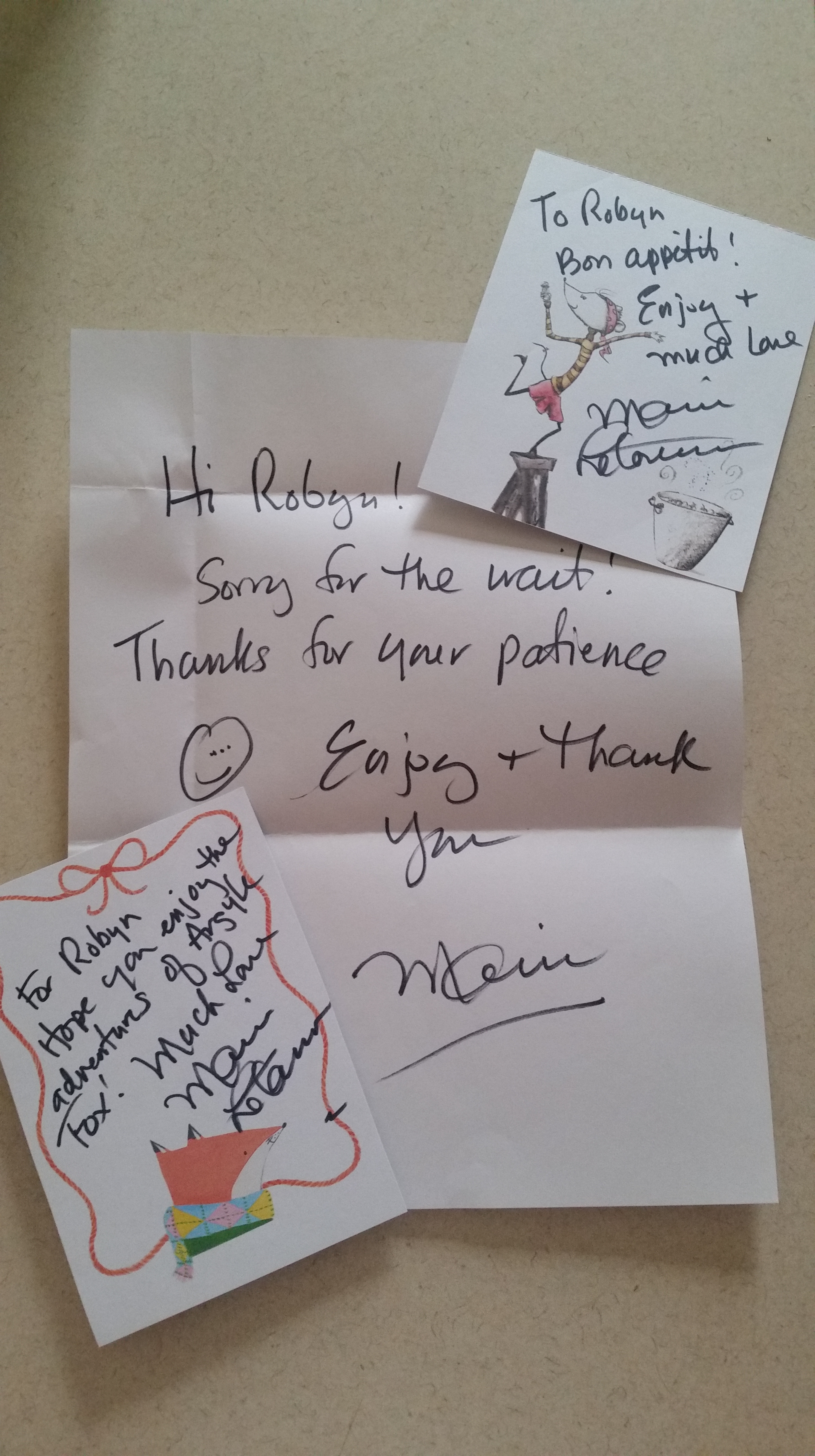 Mail From Marie Therobynbirdsnest border=